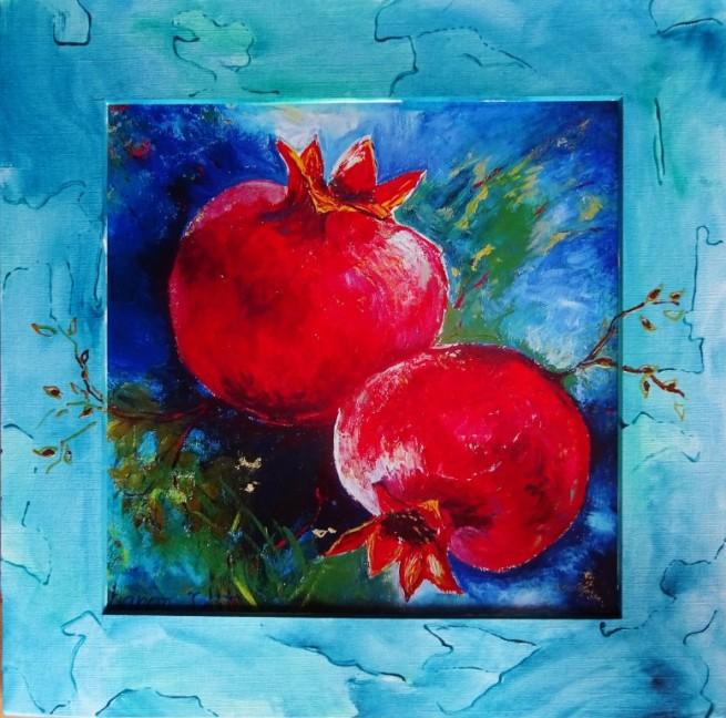 der Granatapfel, Symbol der Fruchtbarkeit