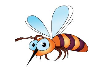 8477331 - illustration of isolated cartoon bee on white background