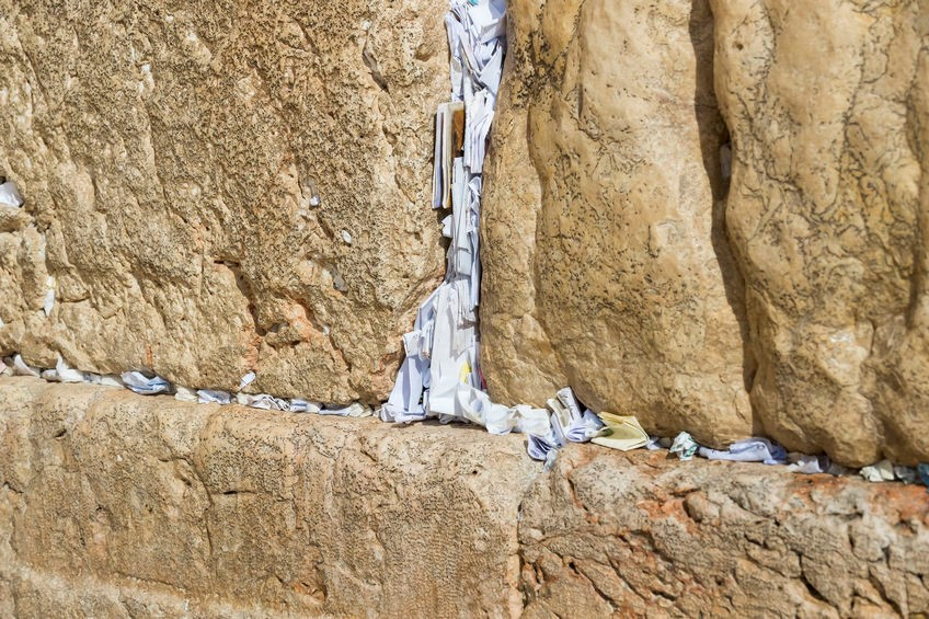 Klagemauer zwischenräume